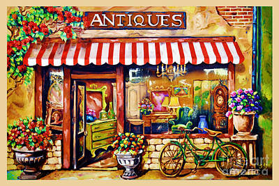 Antiques Original by Liza Ayach