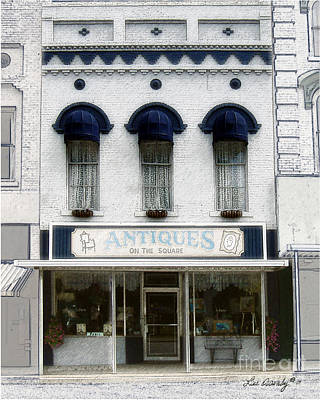 Antiques On The Square Art Print
