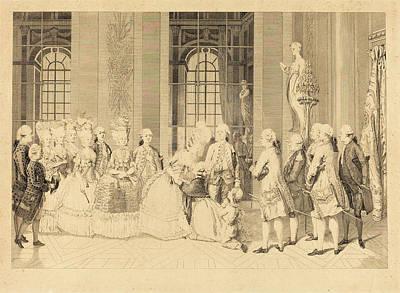 Liberte Drawing - Antoine-jean Duclos After Vicomte Charles Henri Desfosses by Quint Lox