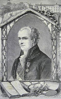 Antoine Laurent De Jussieu Art Print