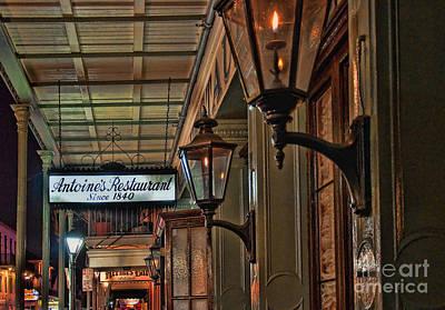 Photograph - Antoines Restaurant New Orleans by Kathleen K Parker