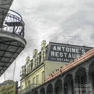 Digital Art - Antoine's by Valerie Reeves