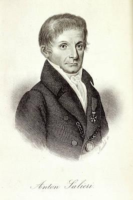 Anton Photograph - Anton Salieri by British Library