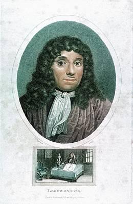 Anton Von Leuwenhoek Art Print