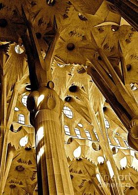 Antoni Gaudi Rythmes   Art Print