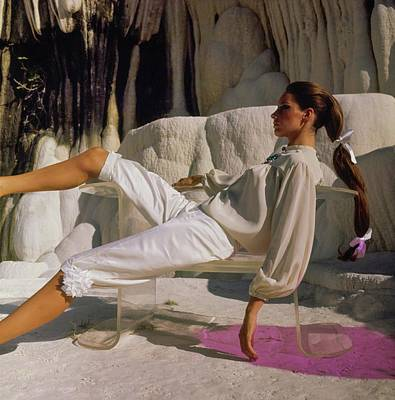 Photograph - Antonia Boekesteyn Wearing Ellen Brooke by Henry Clarke