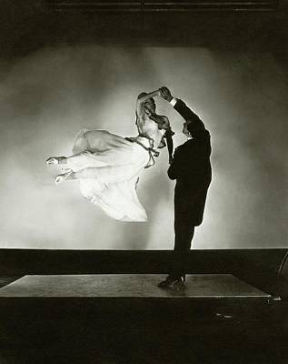 Studio Shot Photograph - Antonio And Renee De Marco Dancing by Edward Steichen