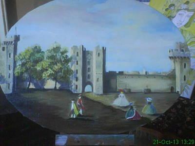 Painting - Antonio Kanale by Asia Dzhibirova