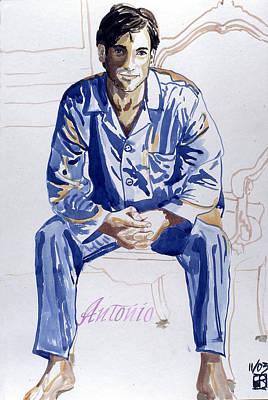 Painting - Antonio by Sylvie Proidl