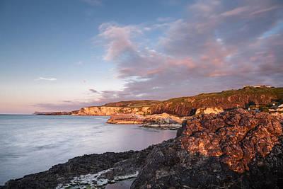 Photograph - Antrim Coast  by George Pennock