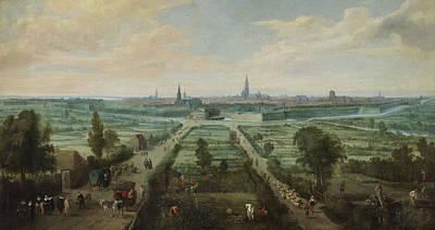 Antwerpen Drawing - Antwerp, Anvers, Antwerpen, Jan Wildens by Litz Collection