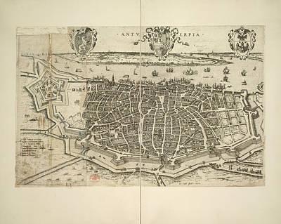Antwerpen Photograph - Antwerp by British Library