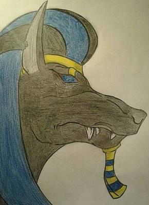 Anubis  Original by Niklas Andersen