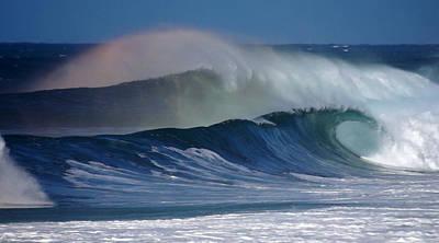 Anuenue Surf Hawaii Art Print