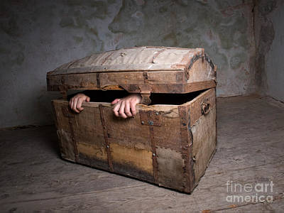 Treasure Box Photograph - Anxiety by Sinisa Botas