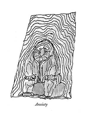 Emotion Drawing - Anxiety by William Steig