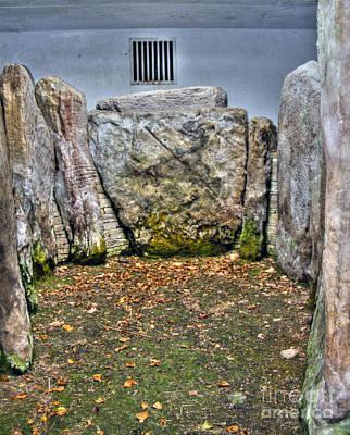 Photograph - Anyas Tomb- Standing Stones by Nina Ficur Feenan
