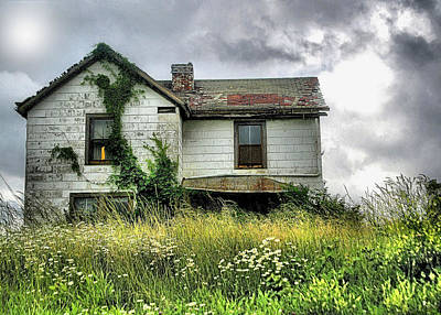Photograph - Anybody Home ??????? by William Griffin