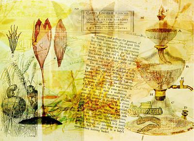 Samovar Digital Art - Anyone For Tea? by Sarah Vernon
