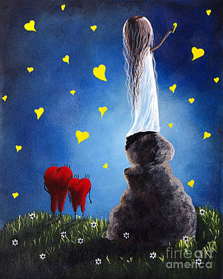 Whimsical Painting - Anytime You Need A Friend By Shawna Erback by Shawna Erback