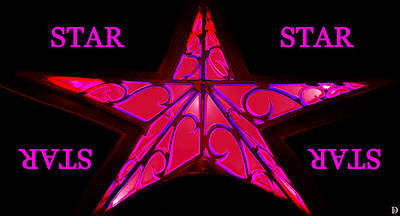 Shinning Digital Art - Anyway You Look At It You Are A Star by David Lee Thompson