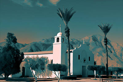 Photograph - Anza Borrego Desert Church by Douglas MooreZart
