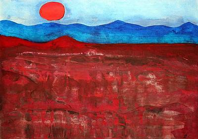 Anza-borrego Vista Original Painting Original by Sol Luckman