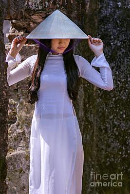 Photograph - Ao Dai Viet Nam by Tran Minh Quan