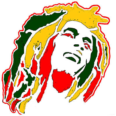 Bobmarley Digital Art - Aotearoa Marley by Paul Regan