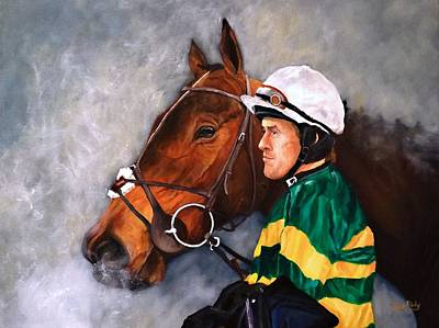 Mccoy Painting - A.p. Mccoy 4000 Up by Barry BLAKE
