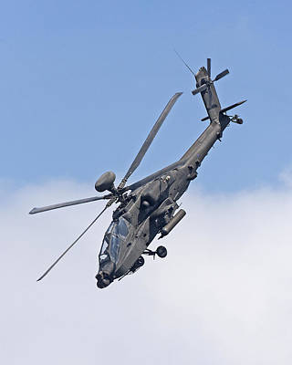 Apache Attack Helicopter Art Print