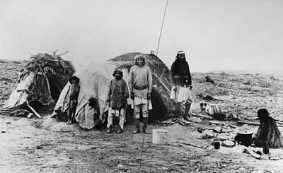Camp Randall Photograph - Apache Camp, 1882 by Granger