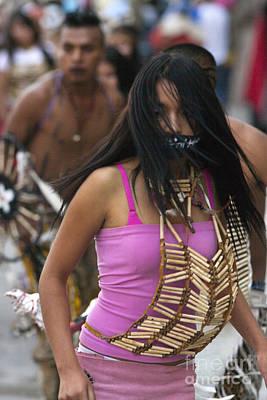 Photograph - Apache Fox - San Miguel De Allende Mexico by Craig Lovell
