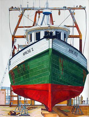 Amagansett Painting - Apache II by Lorraine LaVista