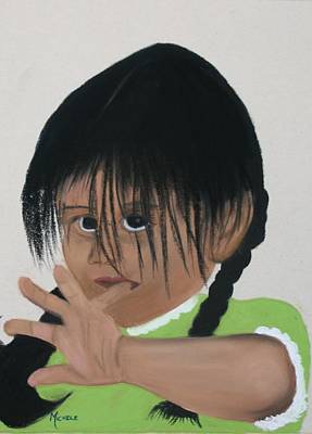 Pastel - Apache Innocence by Michele Turney