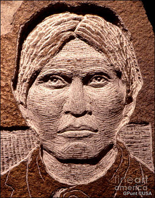 Chief Keokuk Sculpture - Apache-kid by Gordon Punt