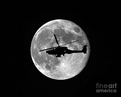 Apache Moon Art Print by Al Powell Photography USA