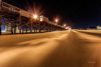 Myrtle Beach Ocean Photograph - Apache Pier I by Everet Regal