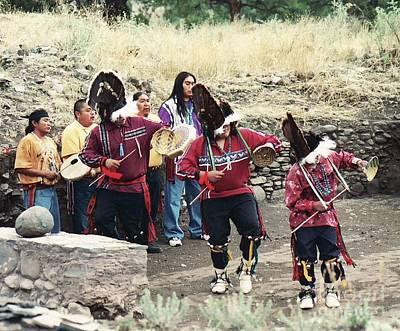 Art Print featuring the photograph Apache Rain Dance by Juls Adams