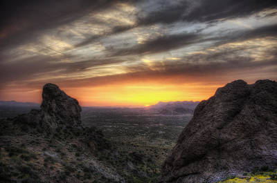 Photograph - Apache Sunset by Anthony Citro