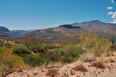 Photograph - Apache Trail 2 - Route 88 by Dany Lison