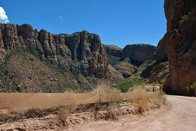 Photograph - Apache Trail - Arizona by Dany Lison