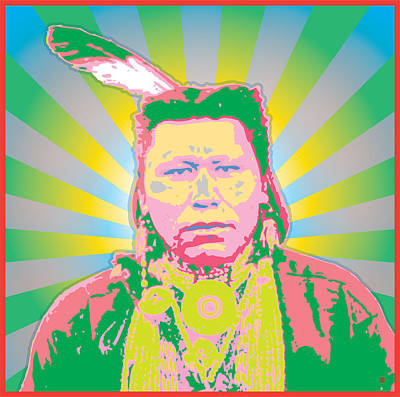 Apache Warrior Art Print by Gary Grayson
