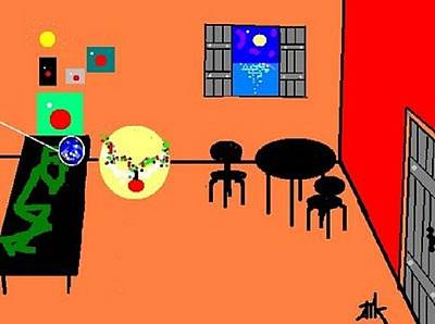 Digital Art - Apartment by Ann Kipp