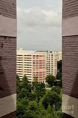 Clouds Rights Managed Images - Apartment buildings in western Singapore Royalty-Free Image by Imran Ahmed