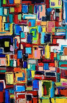 Painting - Apartment Windows by Mark Watson