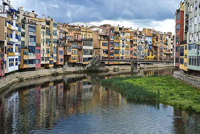 Photograph - Apartments Girona Spain by Christopher Rees