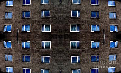 Apartments In Berlin Art Print by Andy Prendy