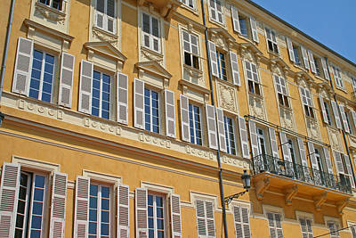 Apartments In Nice Art Print