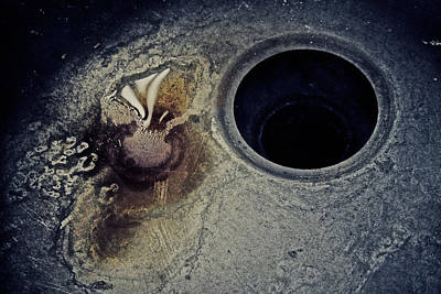 Sink Hole Photograph - Apathy by Odd Jeppesen